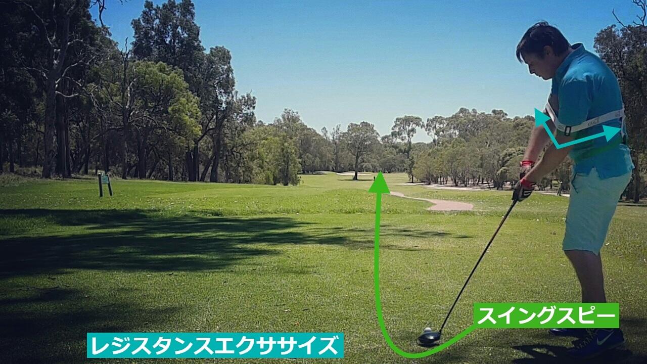 ゴルフスイング家練習器ドライバーが苦手な方には本当におすすめの練習器具です。