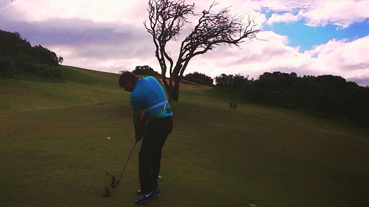 ゴルフ 練習グッズ 、スイングの練習をしながらヘッドスピードアップ効果を得られ飛距離がアップする、パワフルスイングや、体幹