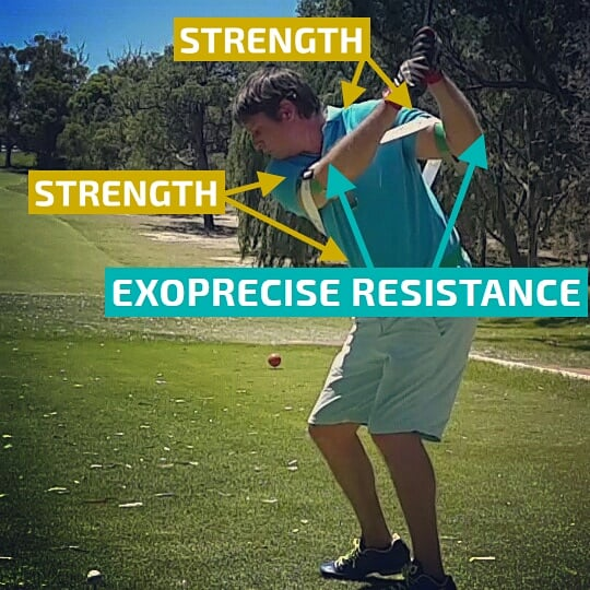 Golf Power Swing Trainer