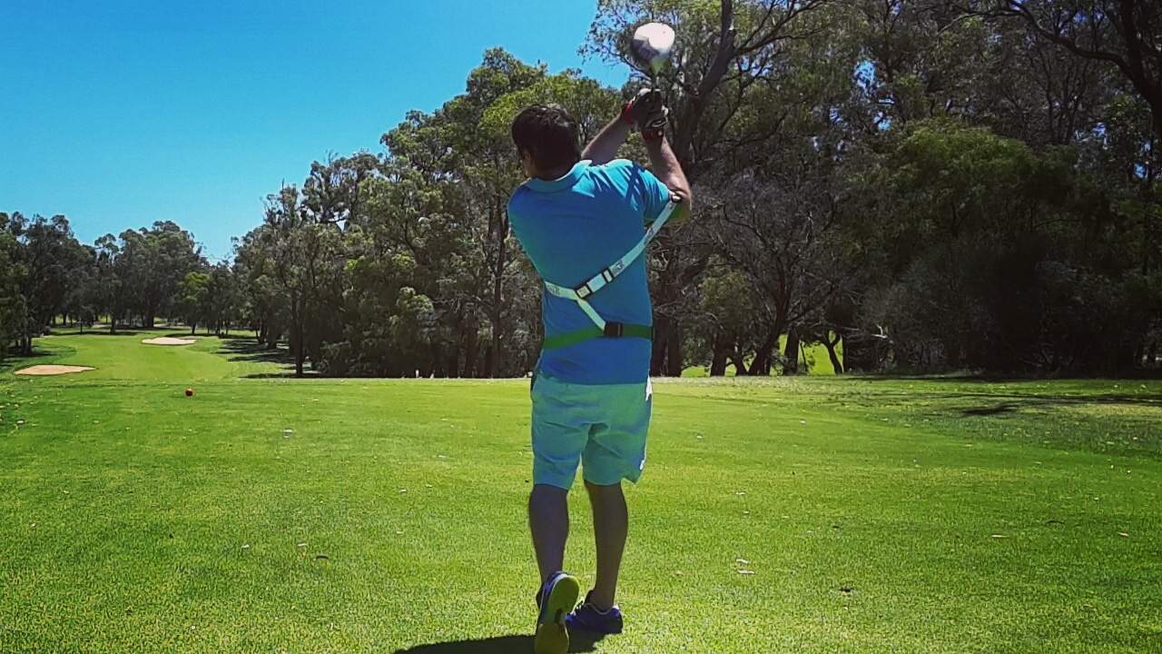Power Golf Shot