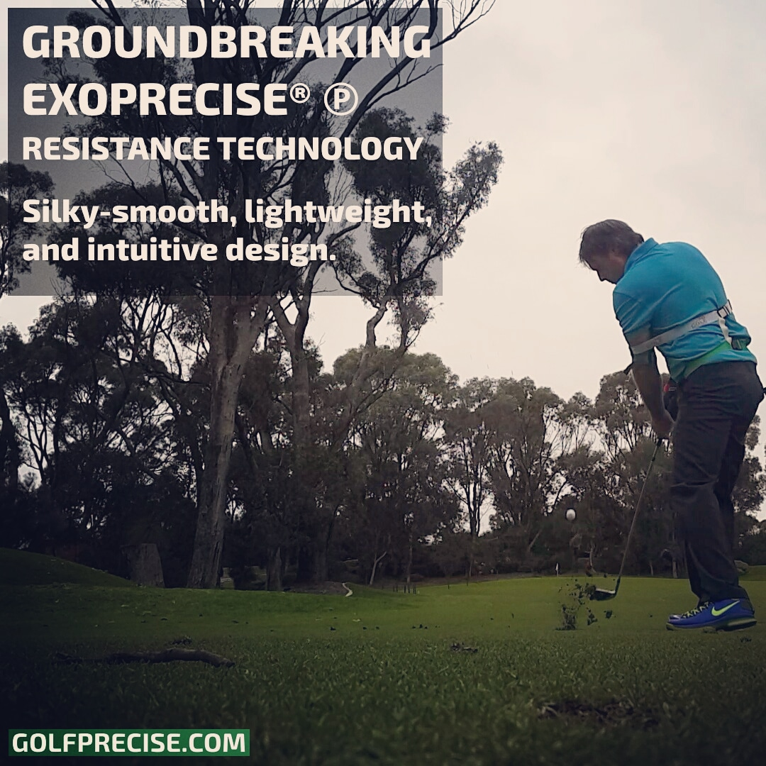 SILKY-SMOOTH: Golf Precise-57 Power Swing Trainer